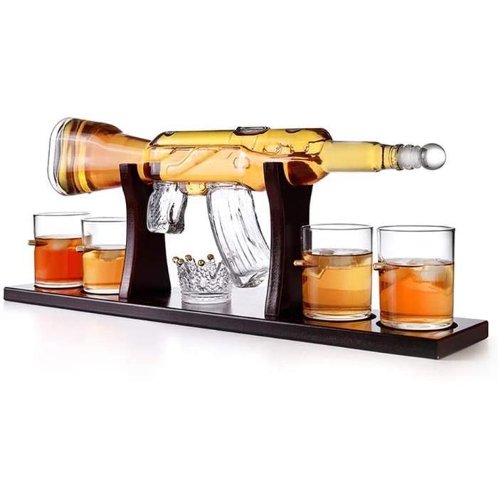 DEGUSTATION naison de carafe agrave whisky dune capaciteacute de 800 ml bouteille de vin rouge de creacuteativiteacute de mitrai1059