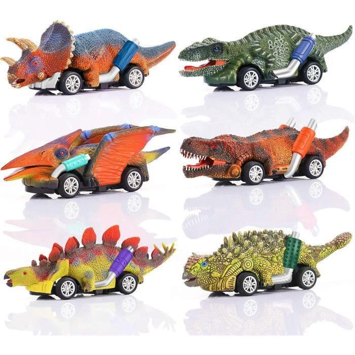 Jouet Garcon 2-8 Ans, Cadeau Garçon 2 3 4 5 Ans Voiture de Jouet de Dinosaure Jouet Enfant 2-8 Ans Garcon Cadeau D'anniversaire 2-5