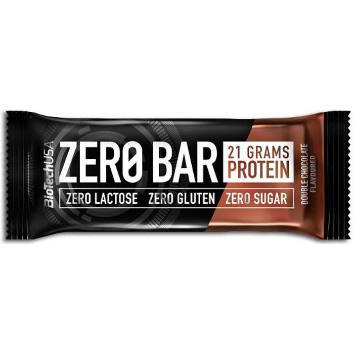 Iso Zero Bar Boite de 20 Barres Proteine de 50g CHOCOLAT - BIOTECH USA Whey