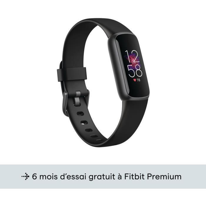FITBIT Luxe - Bracelet connecté - Graphite - Noir