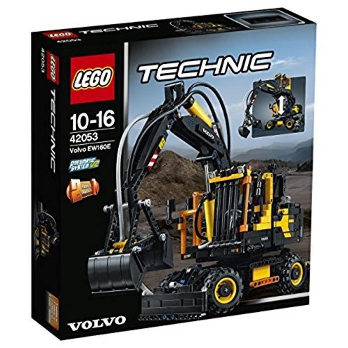 Jeu D'Assemblage LEGO TOPZL 42053 Technic Volvoe EW160E Construction Toy