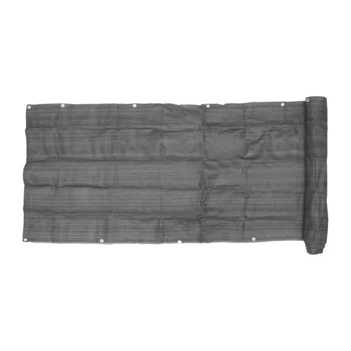 HOUSSE DE PARASOL - BACHE DE PARASOL- (0.9 * 5m gris) filet de sécurité pour balcon filet de protection contre le soleil