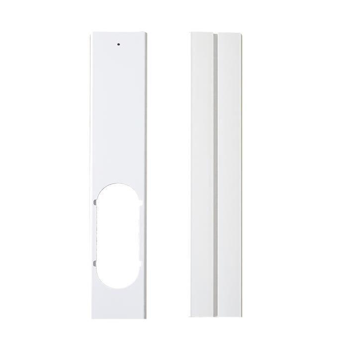 2 pièces plaque de joint de fenêtre réglable Kit de glissière de fenêtre bien scellé plaque connecteur de Tube de tuyau d'échappemen