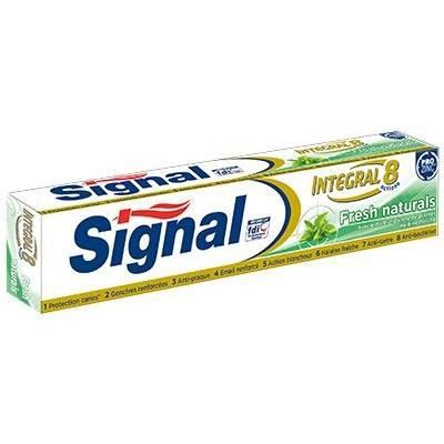 SIGNAL Dentifrice intégral fresh natural - 75 mL