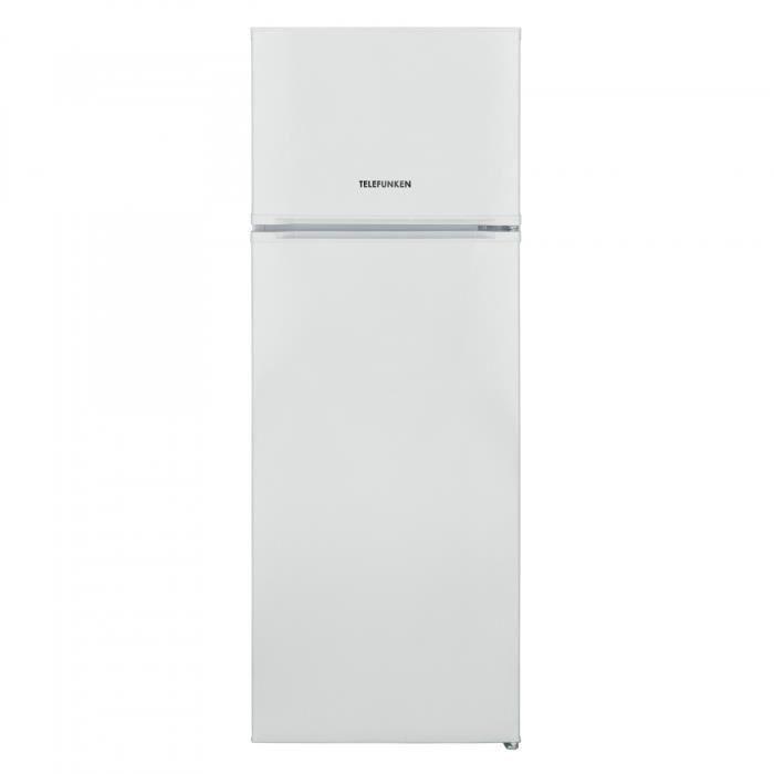 Réfrigérateur 2 Portes Telefunken Tfk2D213W - 213L - Statique - A+