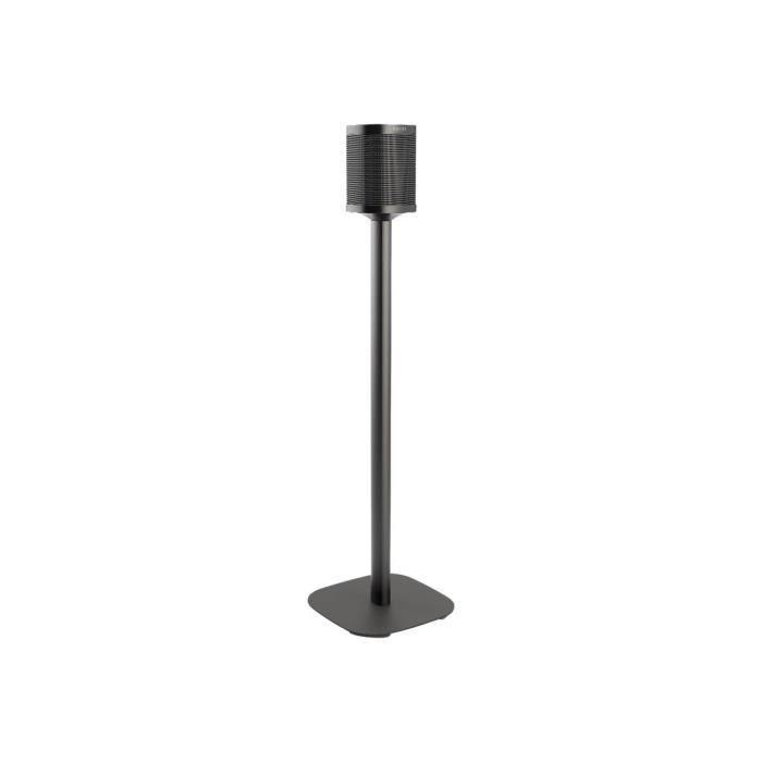 Vogel's Sound 4301 Pied pour haut-parleur(s) noir posé sur le sol pour Sonos One, PLAY:1