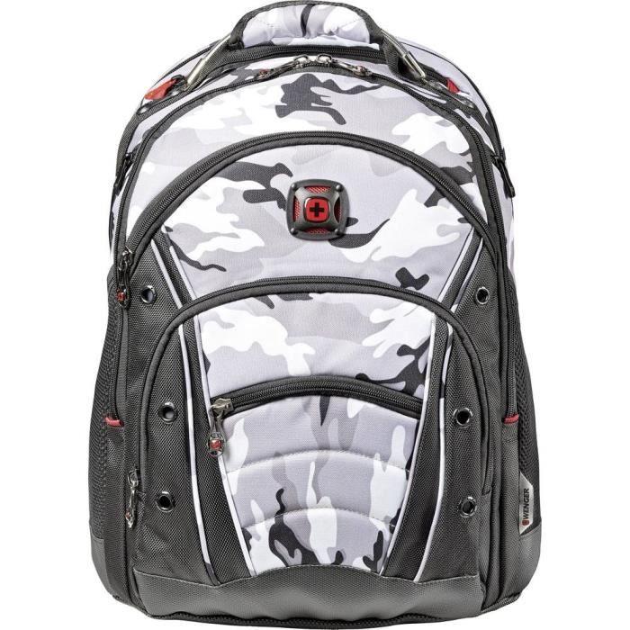 Sac à dos pour ordinateur portable Wenger Synergy Arctic Camo Au maximum: 39,6 cm (15,6-) camouflage, gris