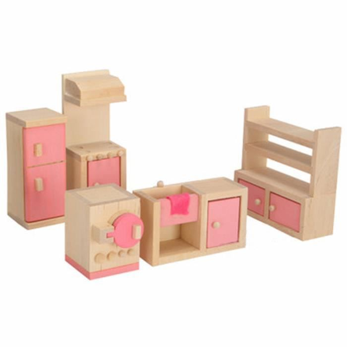 meuble miniature en bois achat vente jeux et jouets. Black Bedroom Furniture Sets. Home Design Ideas