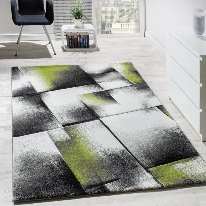 tapis salon poils ras vert gris 120x170 cm achat vente tapis black friday le 22 11 18h. Black Bedroom Furniture Sets. Home Design Ideas