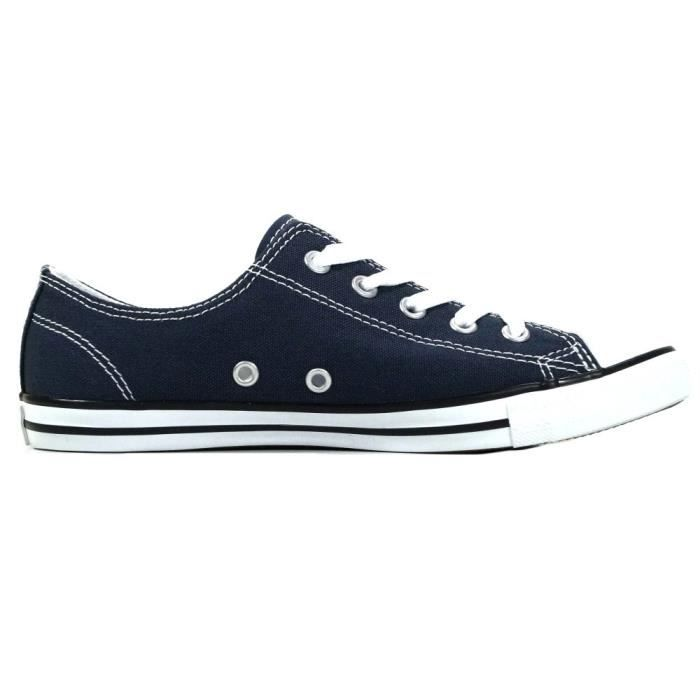 Converse - Converse Femmes Chaussures CT Dainty Ox Bleu Sneakers37,5 Réf 41365