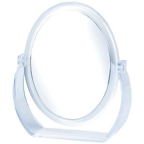 Danielle creations miroir ovale transparent ave achat for Miroir danielle