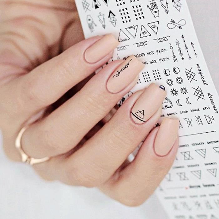 Deco Sticker Ongles Achat Vente Pas Cher