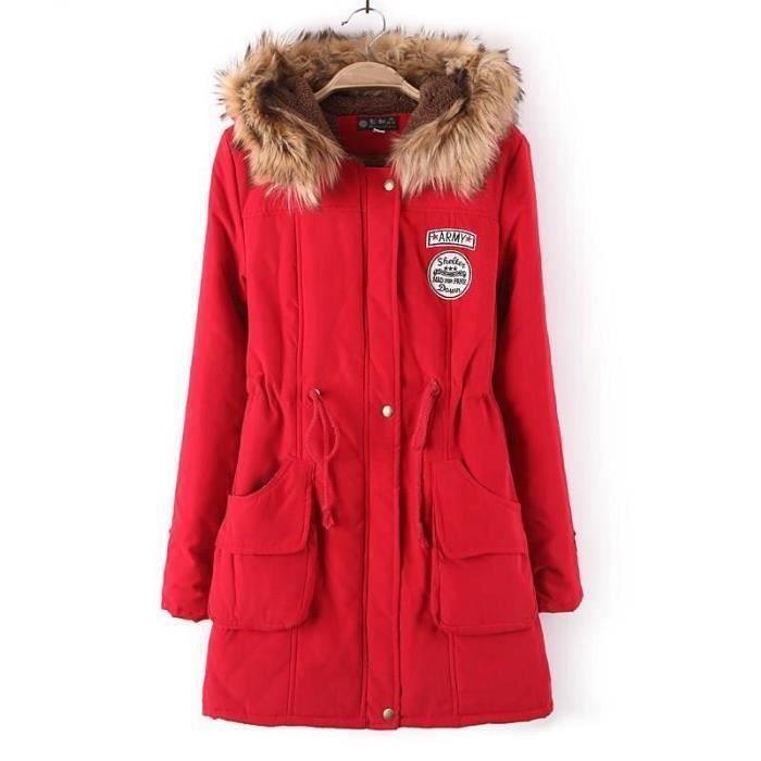 Parka Manteau New Femme Veste D'hiver Pour 3Aq5R4jL