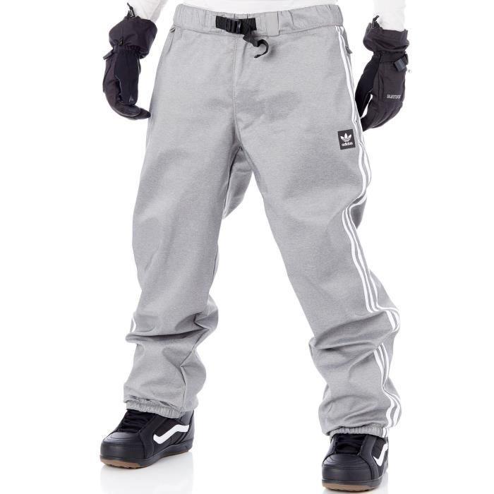 Leopardo Amarillento visión  Pantalon Snowboard Adidas Lazyman Core Gris-Blanc - Prix pas cher -  Cdiscount