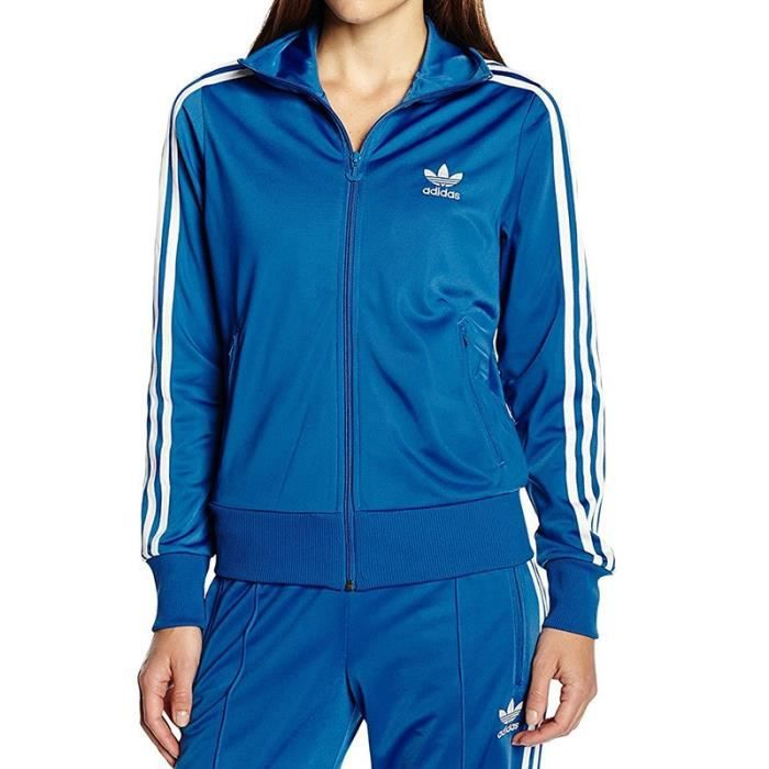 sweat adidas femme bleu