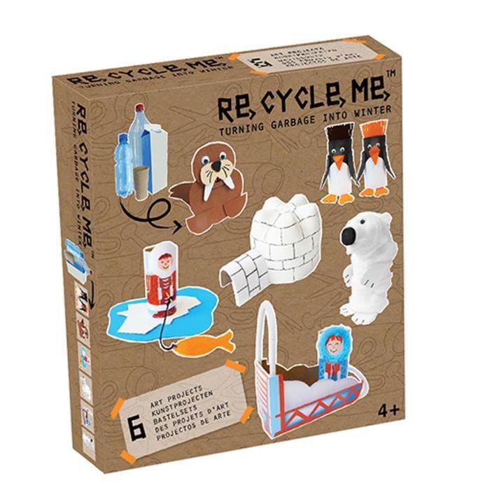 NATURE - ANIMAUX Kit créatif ReCycleMe : La banquise aille Unique C