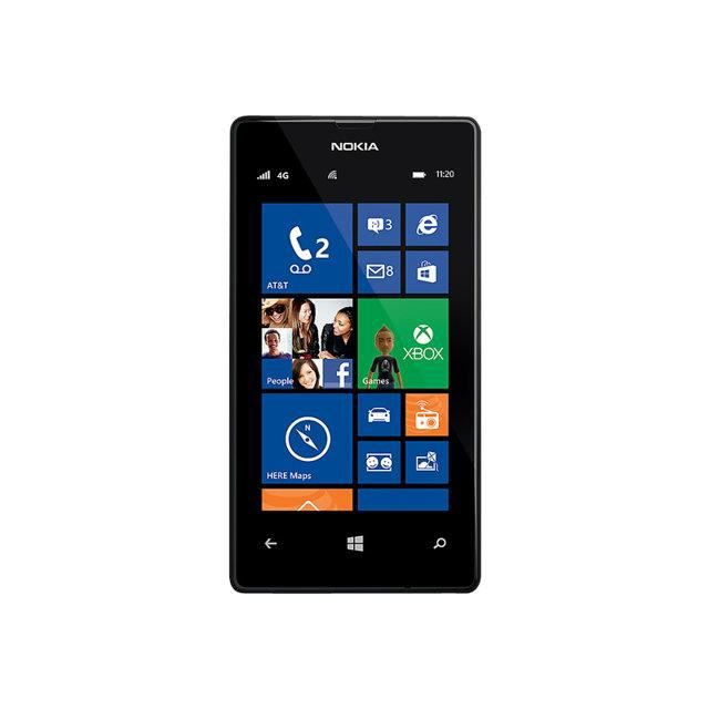 nokia lumia 520 noir reconditionne a neuf achat. Black Bedroom Furniture Sets. Home Design Ideas