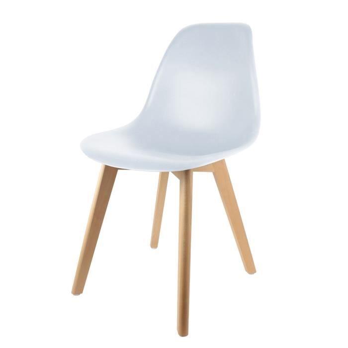 Chaise cm scandinave enfant Blanc H56 5 0wOkXN8nPZ