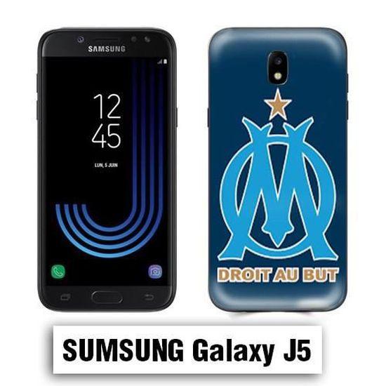 Coque Samsung J5 2017 OM Olympique de Marseille - Cdiscount Téléphonie