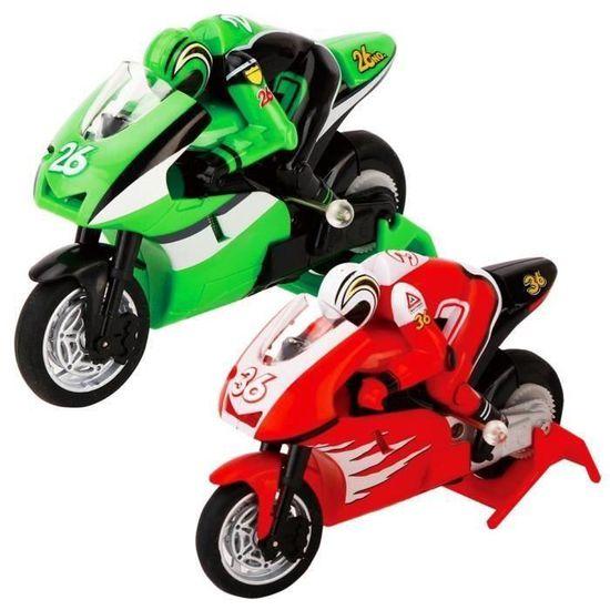 Nrpfell Creat Moto Rc Moto /électrique Haute Vitesse Nitro T/él/écommande Voiture Recharge 2.4 Ghz Racing Moto De Gar?on Jouet Cadeau