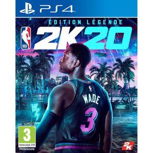 JEU PS4 NBA 2K20 Édition Légende Jeu PS4