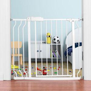 BARRIÈRE DE SÉCURITÉ  Barrière de Sécurité pour Bébés ou Animaux en Méta
