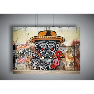 AFFICHE - POSTER Poster BANKSY STREET ART COOL MAN GRAFFITI Wall Ar