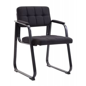 CHAISE DE BUREAU Chaise visiteur fauteuil de bureau sans roulette e
