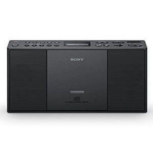RADIO CD CASSETTE Mini chaine Hifi avec lecteur CD MP3 et USB Noir -