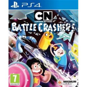 JEU PS4 Cartoon Network Battle Crashers PS4