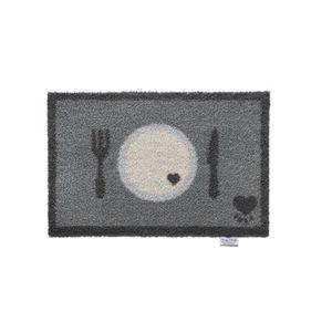 TAPIS Tapis en fibres naturelles Dessous de gamelles 50x
