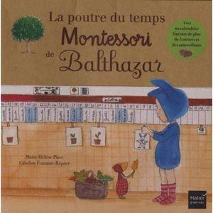POUTRE - DÉCO PLAFOND La poutre du temps Montessori de Balthazar