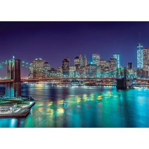 PUZZLE Puzzle 3000 pièces New York by Night