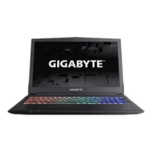 Achat PC Portable Gigabyte Sabre 15 P45G v8 - Core i7 8750H / 2.2 GHz - Win 10 Familiale 64 bits - 16 Go RAM - 256 Go SSD + 1 To HDD pas cher