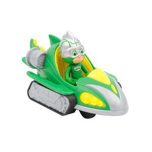 FIGURINE - PERSONNAGE Pyjamasques - Véhicule Turbo Racer avec figurine -