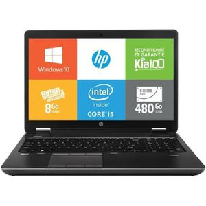 ORDINATEUR PORTABLE Pc portable HPZBOOK15 intel core i5 8go ram 480go