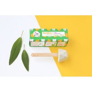 DENTIFRICE Dentifrice solide, sauge citron, 17g, Lamazuna