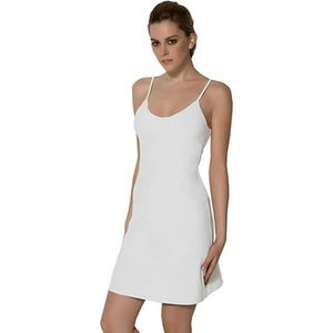 Femme Fond De Robe Classique Bretelles Beige Blanc Noir Beige Achat Vente Robe Cdiscount