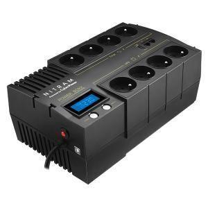 ONDULEUR NITRAM - Onduleur POWER BOXX 650VA LCD Line Intera
