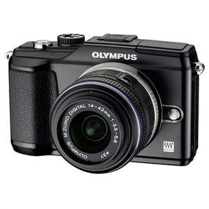 APPAREIL PHOTO RÉFLEX OLYMPUS PEN E-PL2 noir + objectif 14-42mm