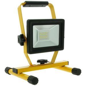 Projecteur Chantier Solaire LED Projecteur LED Rechargeable 60 W 3600lm S/écurit/é Rechargeable Work Light Imperm/éable /à leau IP54 Avec Le Port DUSB de 5V 2.1 a et Le Mode de SOS pour Camping