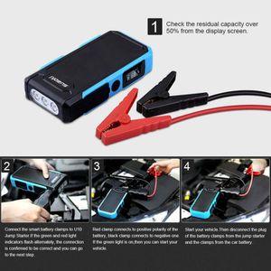 COUPE BATTERIE Suaoki Batterie Portable Voiture 20000mAh 800A Jum