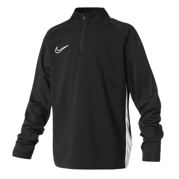 NIKE Sweat 1/2 zip DRY ACDMY DRIL TOP - Enfant - NOIR