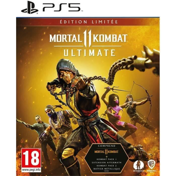 Mortal Kombat 11 Ultimate Edition Limitée PS5