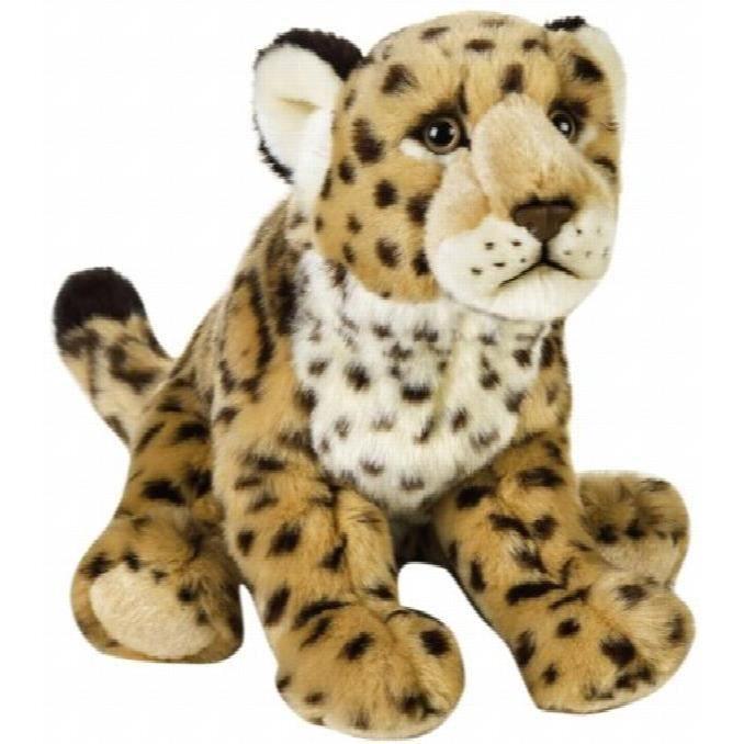 Geographics National -jaguar Animaux En Peluche Jouet En Peluche (taille Moyenne, Naturel) FBWG1