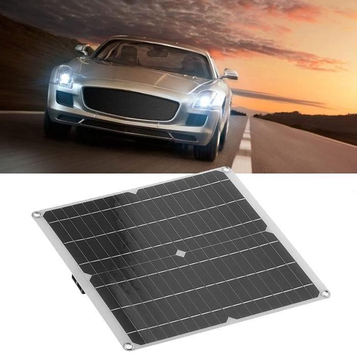 Panneau solaire, panneau de batterie de voiture solaire étanche Chargeur de batterie de voiture solaire étanche Générateur so 196