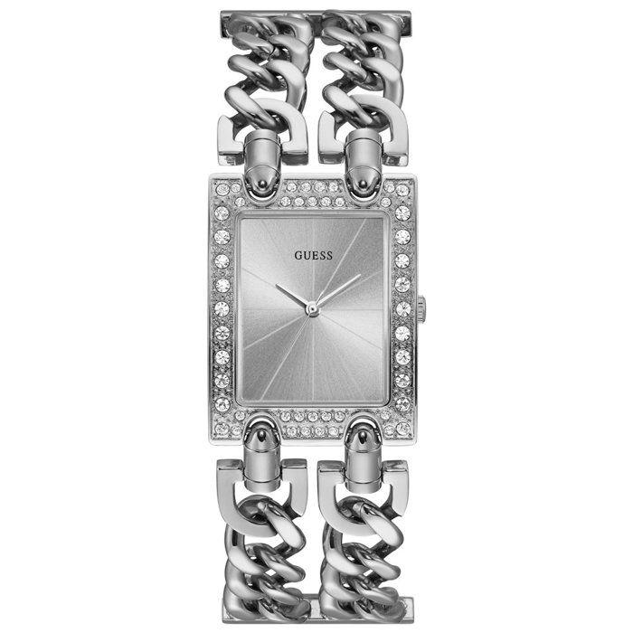 Achetez cette belle montre Guess avec un acier inoxydable en acier inoxydable de couleur argentée mm, un acier inoxydable en acier
