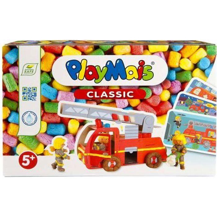 PLAYMAIS Mosaic éducatif -pompiers-