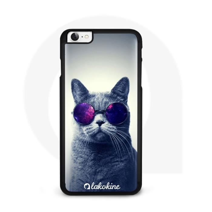 Coque iPhone SE 2020 Chat Swag
