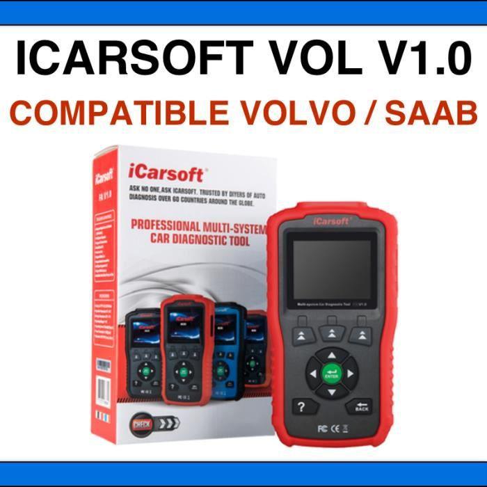 iCarsoft VOL V1.0 - Diagnostic professionnel Volvo / Saab - AUTOCOM DELPHI